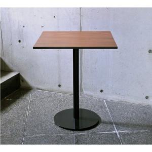 ヴィンテージ風カフェテーブル60cm角...