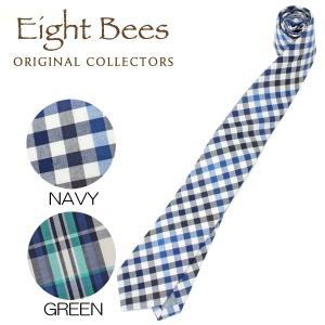 【限定商品】EIGHT BEES エイトビーズ (COLLECTORSオリジナルブランド)カジュアル ネクタイ 15913400|collectors