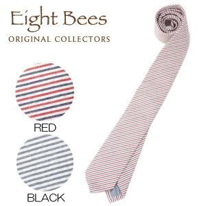 【限定商品】EIGHT BEES エイトビーズ (COLLECTORSオリジナルブランド)カジュアル ネクタイ 15913500|collectors