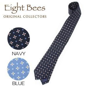 【限定商品】EIGHT BEES エイトビーズ (COLLECTORSオリジナルブランド)カジュアル ネクタイ 15913600|collectors