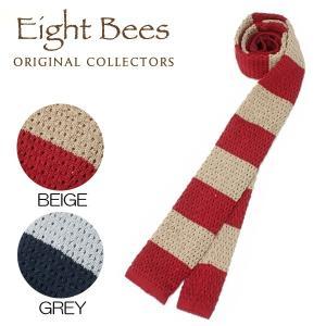 【限定商品】EIGHT BEES エイトビーズ (COLLECTORSオリジナルブランド)カジュアル ネクタイ 15913800|collectors