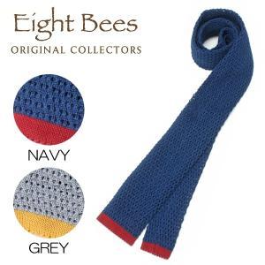 【限定商品】EIGHT BEES エイトビーズ (COLLECTORSオリジナルブランド)カジュアル ネクタイ 15913900|collectors