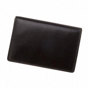 Morpho モルフォ Helena ヘレナ SOFT LAMB&PIG カードケース ブラック 6685|collectors