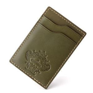 オロビアンコ パスケース 定期入れ グリーン Orobianco ORPA-001|collectors