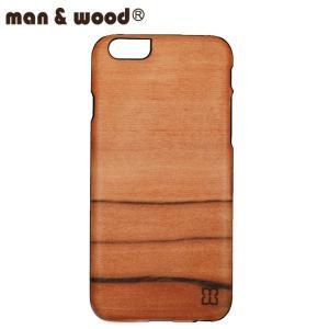 man&wood マン&ウッド iPhone6用 ハードケース  MW-M1418 SaiSai 天然木使用 ブラックフレーム|collectors