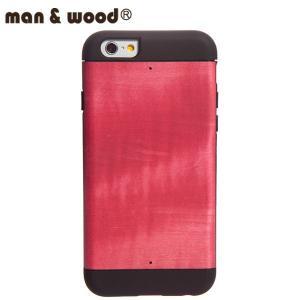 man&wood マン&ウッド iPhone6用 ハードケース  MW-M1531 Azelea プロテクションタイプ 天然木使用|collectors