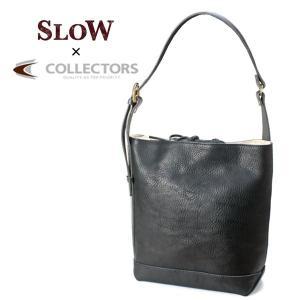 SLOW スロウ bono 栃木レザー ショルダーバッグ  4920000 コレクターズ別注カラー NAVY|collectors