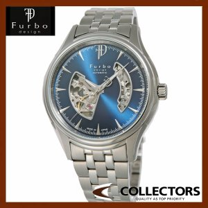 Furbo フルボ 腕時計 ウォッチ 自動巻き F5025BLSS ブルー|collectors