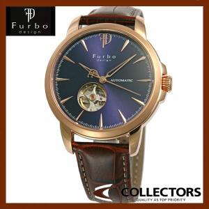 Furbo フルボ 腕時計 ウォッチ 自動巻き F5027PBKBR ブラック/ブラウン|collectors