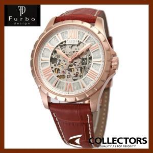 Furbo フルボ 腕時計 ウォッチ 自動巻き F5021PSIBR ピンクゴールド|collectors