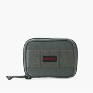 BRIEFING ブリーフィング QL ROUND WALLET S ラウンドウォレット Gray BRF380219-014|collectors