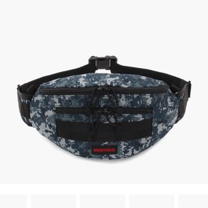 BRIEFING ブリーフィング FANNY PACK  ショルダーバッグ Navy Degital Camo BRF312219-174|collectors