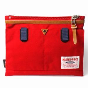 master-piece マスターピース  LINK サコッシュ コレクターズ別注 Red 02343-CO|collectors