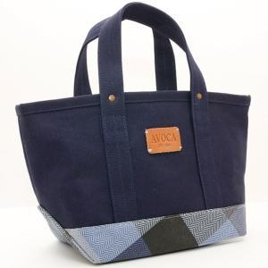 AVOCA アヴォカ HENRY MINI TOTE BAG ミニトートバッグ Denim/Navy 130594|collectors
