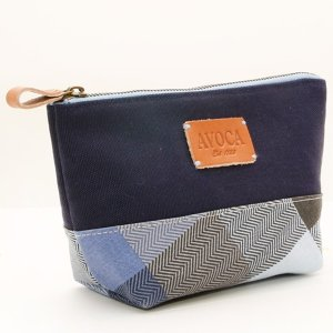 AVOCA アヴォカ HENRY POUCH ポーチ Denim/Navy 130597|collectors
