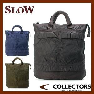 SLOW スロウ VINTAGE DYE MILITARY ヘルメットトートS 49S56E|collectors