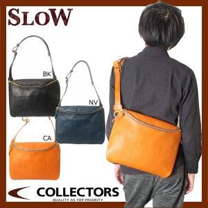 SLOW スロウ コレクターズ別注 栃木レザー ショルダーバッグ 49S74EC|collectors
