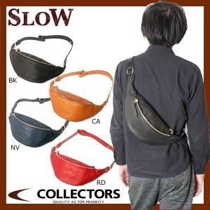 SLOW スロウ コレクターズ別注 レザー ボディバッグ 49S75EC|collectors