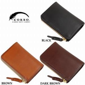 CORBO コルボ SLATE ハーフサイズ 2つ折財布 ウォレット 8LC-9954|collectors