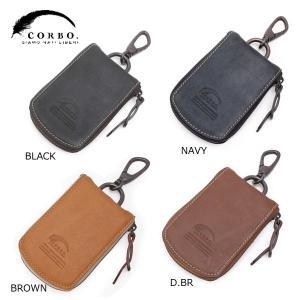 CORBO コルボ curious キュリオス カーキーケース(免許証・ETCカード収納可能) 8LO-1102|collectors