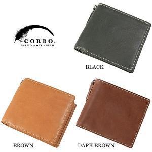 CORBO コルボ curious キュリオス 二つ折財布 8LO-9931|collectors