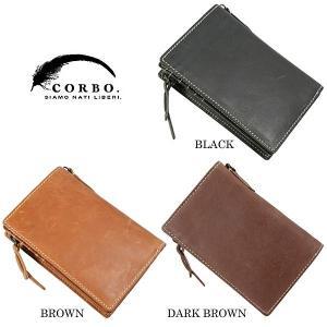 CORBO コルボ curious キュリオス 縦型二つ折り財布 8LO-9933|collectors