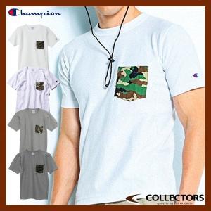 チャンピオン リバースウィーブポケット付きTシャツ 16SS CHAMPION C3-B369|collectors