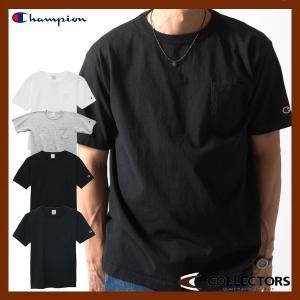 チャンピオン ポケット付き US Tシャツ 15FW MADE IN USA CHAMPION C3-B303|collectors