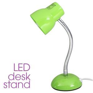 LED デスクライト「R71G」スタンド式  スタンド式とクランプ式がございます。 LED電球1個、...