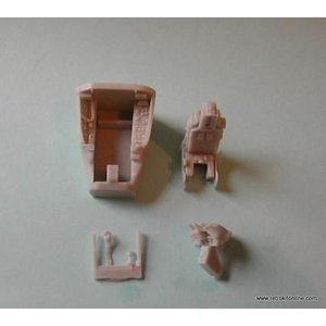 RWE026 F-16 Cockpit Detail Set for Hasegawa kit|college-eye