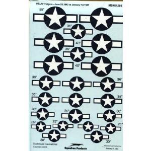 48-1266 USAAF Insignia June 1943 - January 1947|college-eye