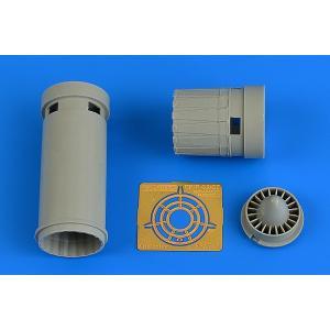 4734 IAI C-7 Kfir exhaust nozzle for Avant Garde kits college-eye