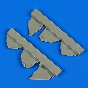 QB72560 Defiant Mk.I undercarriage covers for Airfix kit college-eye