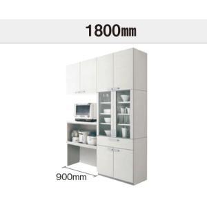 パナソニック カップボードVスタイル 間口1800ミリ トール家電ハイカウンタープラン開き扉仕様 扉グレード10 お客様のオリジナルプランお見積いたします。の画像