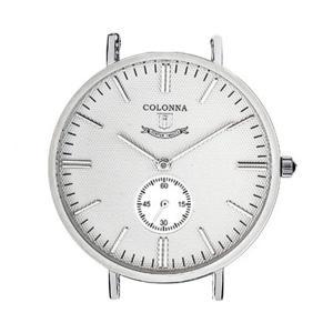 コロンナ COLONNA C42W/SS 時計(本体のみ) 直径40mm-18mm幅ストラップ対応|colonna