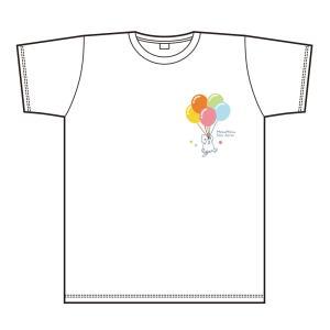 ほしの島のにゃんこ にゃんこTシャツ ホワイト サイズ:M|colopl-store