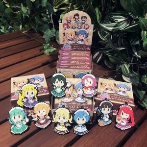 星守メイドカフェ ラバーストラップ 奏乃宮女学院編  BOX(9個入り)