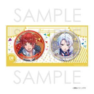 DREAM!ing 1st Anniversary ペアビッグ缶バッジ 真也&時雨|colopl-store