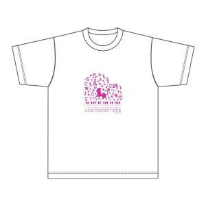 【キャンセル分再販】魔法使いと黒猫のウィズ Live Concert 2018 TシャツB(ピンク)|colopl-store