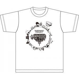 【キャンセル分再版】白猫プロジェクト 白猫Tシャツカーニバル 飛行島Tシャツ|colopl-store