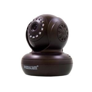 secuOn(セキュオン) 次世代ネットワークベビーモニター スマートフォン対応 上下左右遠隔操作 ブラック