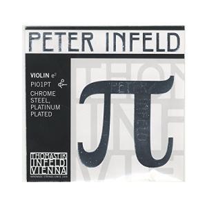 Peter Infeld ペーター インフェルド ヴァイオリン弦 E線 4/4 クロムスチール/プラチナメッキ PI01PT