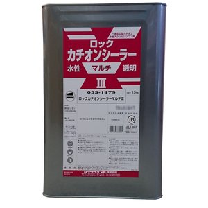 ロックカチオンシーラーマルチ3 15kg  透明 水性
