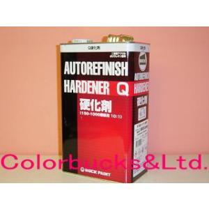 ロックペイント マルチトップクリヤーQ (QR) 硬化剤 (主剤別売) 4kg 10:1型 標準型自動車用クリアー|colorbucks