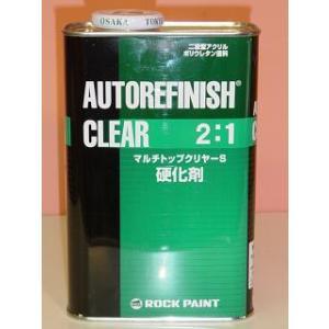 ロックペイント マルチトップクリヤーS硬化剤(主剤は別売り) 4kg 2:1型 最高級自動車用クリアー|colorbucks