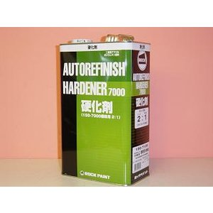 ロックペイント マルチトップハイクリヤー硬化剤(主剤は別売り) 4kg 2:1型 最高級自動車用クリアー|colorbucks