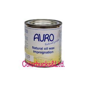 アウロ 自然塗料 油性含浸ワックス NP-0129 750ml 屋内木部のワックス仕上げ用 (フローリングに最適)|colorbucks