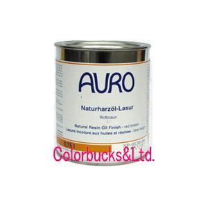 アウロ 自然塗料 油性木部着色剤 NP-0130シリーズ 750ml 全24色 本当に安全な木材用保護自然塗料|colorbucks