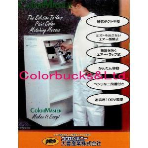 【送料別途お見積もり】大豊プロカン エア循環式塗装ブース カラーマスターCM125 100V電源|colorbucks
