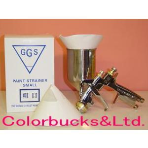 GGS ペイントストレーナー 粗目 綿80メッシュ 100枚入り|colorbucks